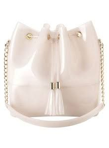 Kartell Grace K Handbag in Milk White