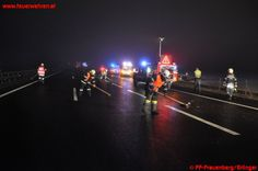 LKW schoss PKW von der Autobahn #feuerwehr