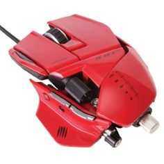 RATÓN MAD CATZ R.A.T. 7 ROJO photo