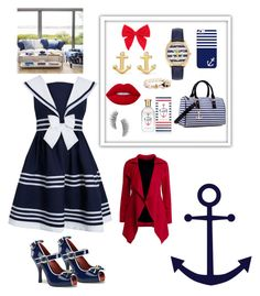 """Weekend sail away"" by sarahcanavan on Polyvore featuring Funtasma, Carole, Casetify, Aamaya by Priyanka, Dasein, Kiel James Patrick, Lime Crime, Tommy Hilfiger and Kre-at Beauty"