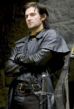 Richard Armitage as Guy of Gisborne, being his usual badass self.