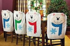 Christmas Chair Covers White Amazon Outdoor Chairs 41 Best Holiday Images Crafts Coverings Remodelworks Com Handmade Diy