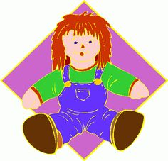 Toy Doll Free Clipart - Free Clip Art Images