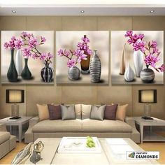 Cheap painting cross stitch, Buy Quality diamond painting directly from China diamond painting cross stitch Suppliers: NEW Diamond Painting Cross Stitch Red Floral Vase Crystal Needlework Diamond Embroidery Flower Full Diamond Decorative zx Vase Cristal, Red Vases, Multi Picture, Room Decor, Wall Decor, Diamond Art, Crystal Diamond, Diamond Cross, Cross Paintings