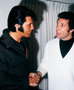 Elvis  Tom Jones. They became the very best of friends.