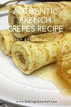 The best Easter dinner sides are made with Swanson® Broth. Taste the Swanson Difference™ French Dessert Recipes, Best Dessert Recipes, Brunch Recipes, Authentic French Crepes Recipe, Best French Crepe Recipe, Breakfast Crepes, Sweet Breakfast, Traditional French Desserts, Homemade Crepes