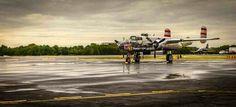 B- 25j Mitchell Panchito,  at the Winston Salem airshow 2014. Photo By Jymmi Davis