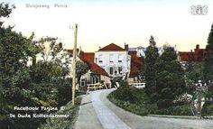 Sluisjesweg bij de pastoriedijk (Pernis) 1920
