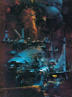 John Berkey artwork.
