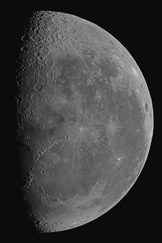 Image of the Moon taken on August 24, 2016 from the Alps. Credit and copyright: Thierry Legault. Used by permission.