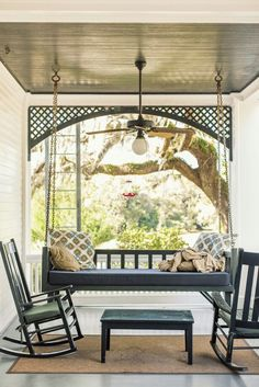 Taking the inside out  Sweet porch/solarium