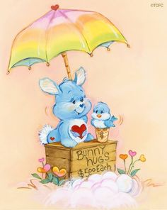 Bunny hugs to my friend Annie! and they are free!! Love you!