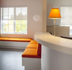 Doctors office waiting room renovation   Ma Maison Interior Design Fabric Upholstery  Kelowna B.C.
