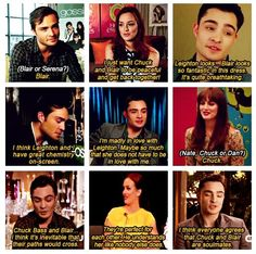 Oh chuck, everyone does believe you're soulmates ❤ I love all of this