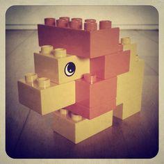 Finn's Lior. (Taken with instagram) #Lego #Duplo #toy #lion