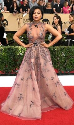 See all the best looks on the SAG awards red carpet