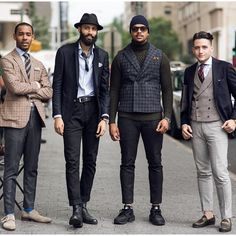 Urban Street Style, NYC, Mens Fall Winter Fashion.