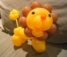 Easy Balloon Animals, Ballon Animals, Balloon Toys, Air Balloon, Circus Birthday, Girl Birthday, Jungle Balloons, Animal Balloons, Twisting Balloons