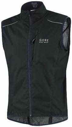 GORE BIKE WEAR Men's COUNTDOWN AS Vest,Black,Large - http://ridingjerseys.com/gore-bike-wear-mens-countdown-as-vestblacklarge/