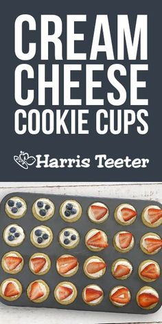 Harris Teeter - July 4th Cream Cheese Cookie Cups