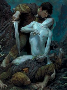 bobbygio:  Middle-Earth - Hobbit Smeagol   Donato Giancola