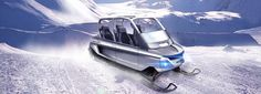 whitefox personal four-seater snowmobile