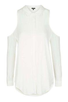 Morrocaine Cold Shoulder Shirt on ShopperBoard e49444a20