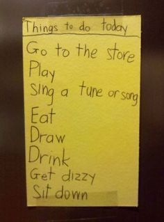 this kid stole my To Do List!