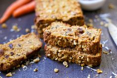 Paleo Morning Glory Bread - Wholesomelicious-You'll love the moist and dense flavor of this Morning Glory Bread! A perfect breakfast or snack on the go, packed with apples, coconut, carrots, raisins, and walnuts. This bread is grain-free, refined sugar free, and oh so delicious! I would like to introduce you to your new favorite breakfast treat. I am super excited...Read More »