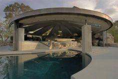 The Elrod House by John Lautner. https://www.facebook.com/media/set/?set=a.10152738536650420.1073742368.402412880419&type=1
