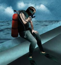Decompression Illness: Story of a new diver.