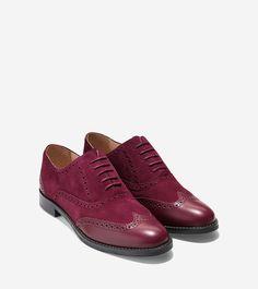 Skylar Oxford · Wingtip ShoesOxfordsCole HaanOutletsBreak OutsOxfordWall ...