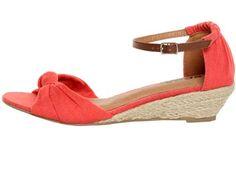 Red Mini - Wedge Sandals!