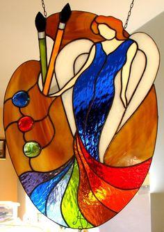 Anioł Artystów...i witrażystów Angel Artists ... and stained glass