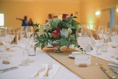 Timeless Fall Wedding in the Blue Ridge on Borrowed & Blue.  Photo Credit: Dennis Kwan Photography