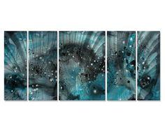 Aquatic Excitement Wall Art Set of 5