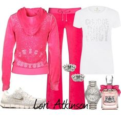 """""""Juicy Couture"""" by Lori Atkinson on Polyvore"""