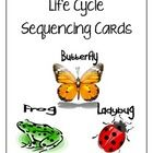 These sequencing cards are a great visual aid for children who are just beginning to learn about the life cycles of a butterfly, frog or ladybug! S...