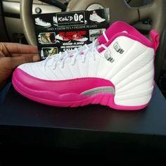 Dynamic Pink Jordan 12s Jordan 12s Jordan Shoes Sneakers