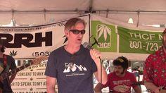 2016 Global Cannabis March: Oregon State Treasurer Ted Wheeler (D) - Por...