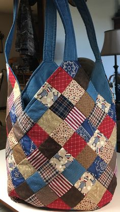 (133) Patchwork Bags, Table Toppers, Purses And Bags, Quilts, Tote Bag, Sewing, Crafts, Fashion, Handmade Bags