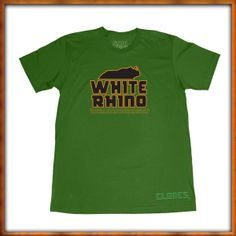 White Rhino T-Shirt - - Tree Shurts  #cannabis #marijuana #trees #tees #weed