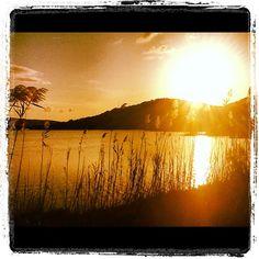 Chia Tramonto sulla Laguna   #igersardegna www.sardegna.com