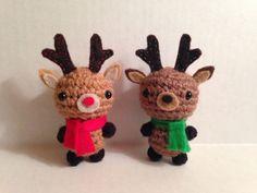 Wee Amigurumi Reindeer