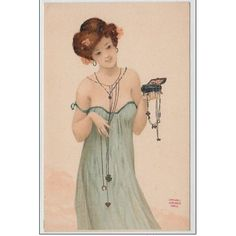 KIRCHNER Raphaël : femme et porte-bonheur en 1902