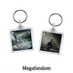 Rick Grimes Keyring Double Sided Acrylic Keychain The Walking Dead Fandom Accessories
