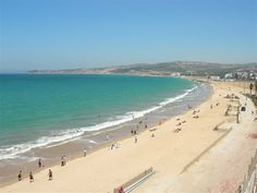 Tangier Beach Morocco. This has to be the windiest beach I have ever been to. You can see the rock of Gibraltar from here. We took the the ferry to Gibraltar Spain.