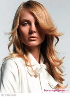 Soft Layered Long Hair Style
