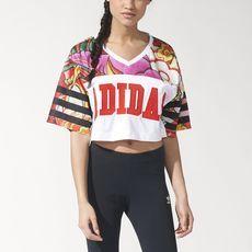adidas - Dragon Print Tee Adidas Outfit, Adidas Shoes, Rita Ora Adidas,  Adidas d0043fadc443