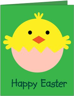 How about making this cute, Easter chick card? It's so simple and quick to make. Follow our instructions and see how easy it is.